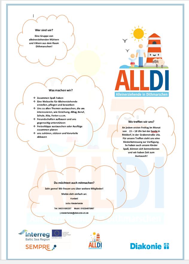 – AllDi-Gruppe macht Werbung–